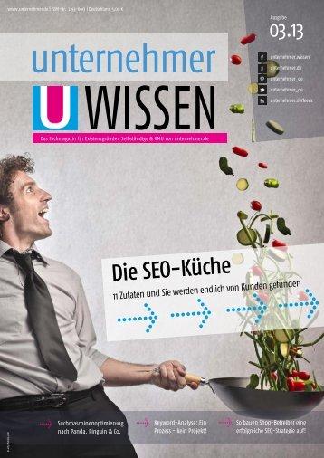 Die SEO-Küche - Unternehmer.de