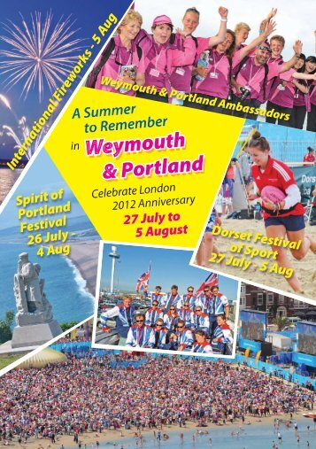 4 Aug Weymouth & Portland Weymouth & Portland ... - Visit Dorset