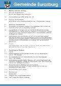 Festsetzungen des Bebauungsplan - Gemeinde Eurasburg - Page 3