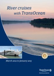 River cruises with Transocean