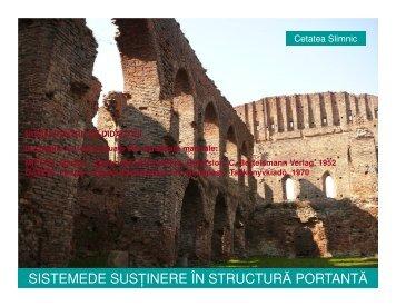 sistemede susinere în structură portantă - Transsylvania Nostra