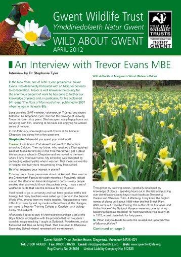 Wild About Gwent April 2012.pdf - Gwent Wildlife Trust