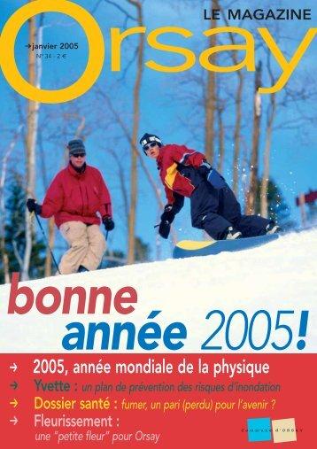 n°34 - janvier 2005 - Orsay