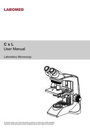 manual (UK) - BMS and Labomed - high quality microscopes