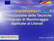 2.1 OPTIMAL Ottimizzazione delle Tecniche Integrate di ... - Beachmed