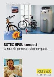 ROTEX HPSU compact - - Av2l.fr