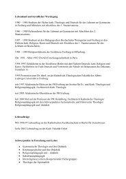 Kassenwärtin Prof. Dr. Katja Boehme - netzwerk-bildung-religion