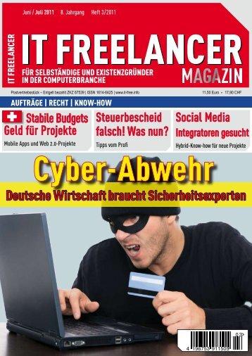 IT Freelancer Magazin Nr. 3/2011