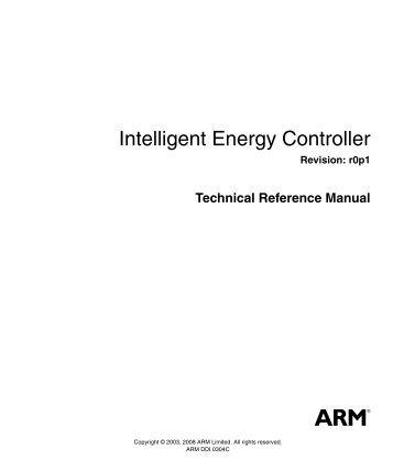 ahb example amba system technical reference manual arm rh yumpu com am335x arm cortex-a8 microprocessors (mpus) technical reference manual cortex a8 technical reference manual pdf