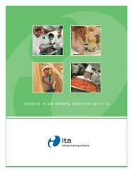 download PDF copy of Revised 2009/10 2011/12 ITA Service Plan