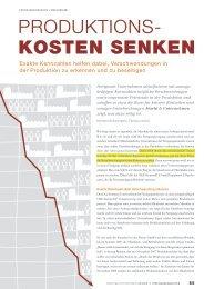 Produktionskosten senken - IT Engineering GmbH