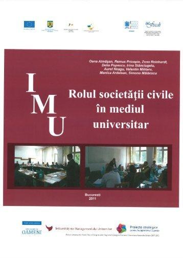 Modul de formare -Rolul societatii civile - uefiscdi