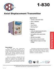 1-830 Spec Sheet - CEC Vibration Products