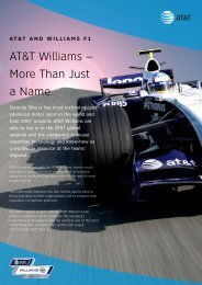 AT&T Williams – More Than Just a Name