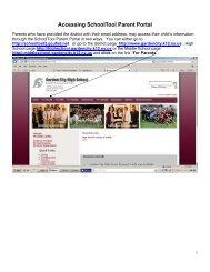 Accessing SchoolTool Parent Portal - Garden City Public Schools