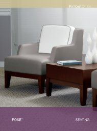 POSE™ SEATING - Kimball Office