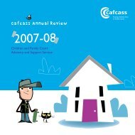 Annual Review 2007-2008 - Cafcass