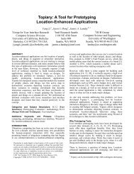 Topiary: A Tool for Prototyping Location-Enhanced ... - CiteSeerX
