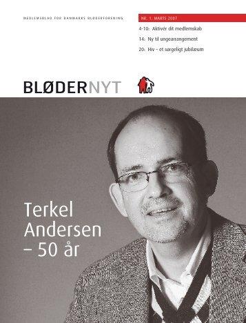 Terkel Andersen – 50 år - Danmarks Bløderforening.