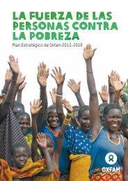 Plan Estratégico de Oxfam 2013-2019