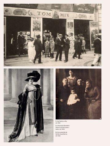 1. Cine Pathé, no Rio, em 1918 2. A Illustração Brasileira ensina a ...