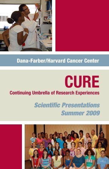 Scientific Presentations Summer 2009 - Dana-Farber/Harvard ...