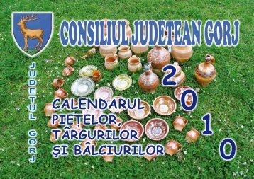 CALENDARUL - Consiliul Judeţean Gorj