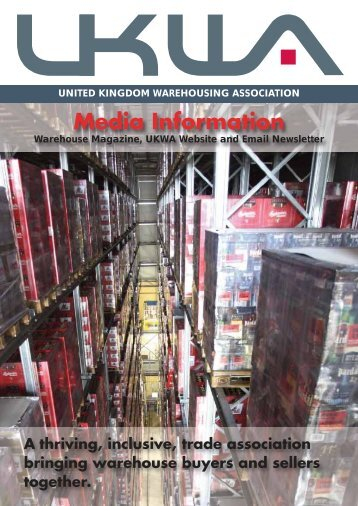 Media Rate Card 2013 - United Kingdom Warehousing Association