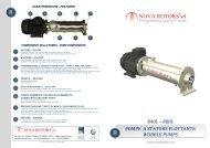 Serie pompe R40L - Watergas