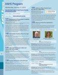 2012 scientific meetings - AAHS - 2014 Annual Meeting - American ... - Page 6