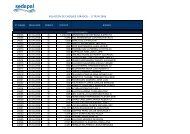 Registro de Cheques Girados II TRIM 2006 - sedapal.com.pe