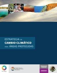 Estrategia de cambio climático para áreas protegidas, CONANP