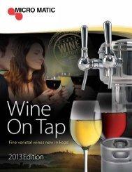 2013 Wine On Tap Catalog PDF Download - Micro Matic USA