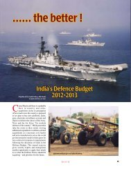 The Indian MoD Annual report-2 - Vayu Aerospace