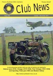 Magazine #852 [October 2011] - Sunbeam MCC