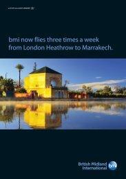 bmi now flies three times a week from London Heathrow to ... - IAGTO