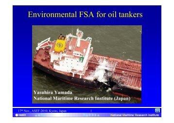 Yasuhira Yamada National Maritime Research Institute (Japan)