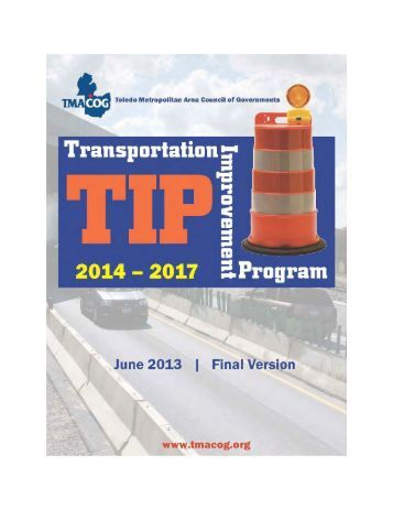 FY2014-2017 Transportation Improvement Program (TIP) - Toledo ...