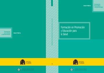 Formación en Promoción y Educación para la Salud - Ministerio de ...