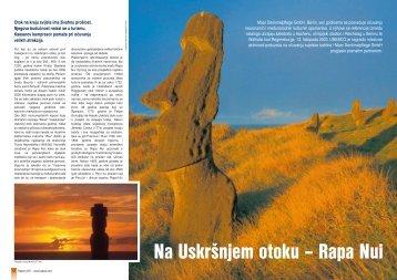 Na Uskršnjem otoku – Rapa Nui