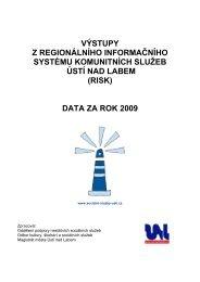data za rok 2009 - Statutární město Ústí nad Labem