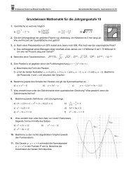 Klasse 10 - Aufgaben.pdf - GCE Bayreuth