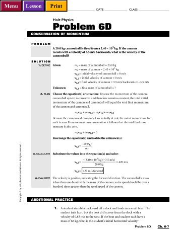 Holt Physics Section Review Worksheet Answers - Karibunicollies