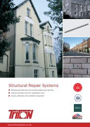 Structural Repair Systems - Triton Chemicals