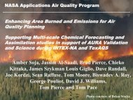 Enhancing Biomass Emissions Estimates within the National ... - Nasa