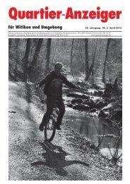 Ausgabe 3, April 2012 - Quartier-Anzeiger Archiv