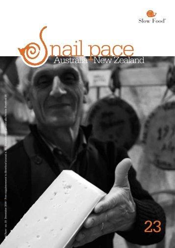 Slow Food Nail Pace