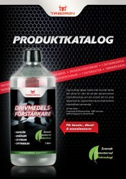 Klicka här för mer information om Triborons produkter ... - Roffes Motor