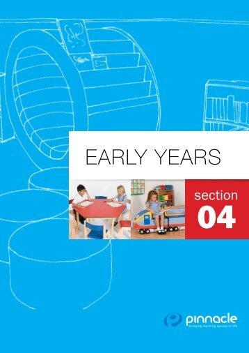 EARLY YEARS - Pinnacle Furniture