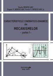 Caracteristicile cinematico-dinamice ale mecanismelor - PIM Copy